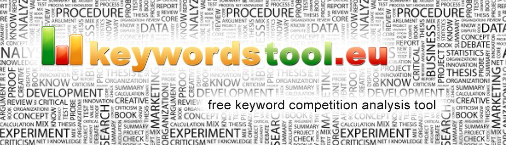 Keywords Tool from keywordstool.eu